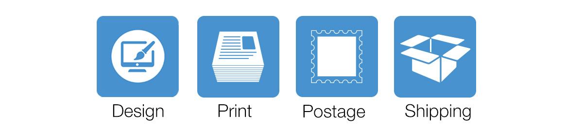 Design, Print, Post and Ship